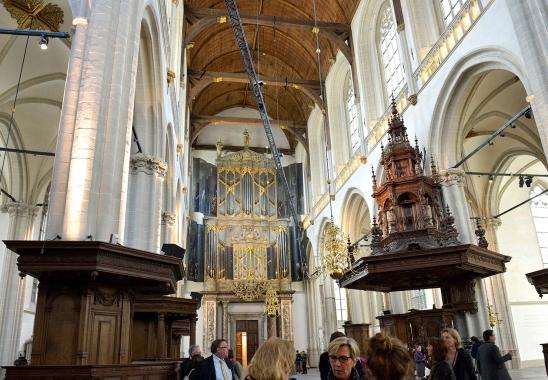 Nieuwe Kerk binnen