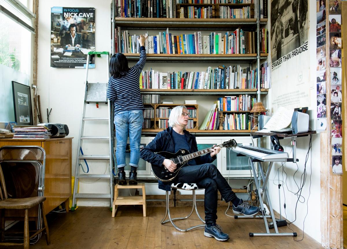 オランダ在住ライター、ユイキヨミ, New wave musician Mick Ness